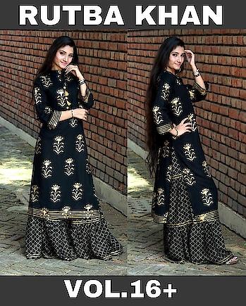 Kurti set  Fabric:- reyon Price:-1350 Size :- 42 -44. #kurti   #suit   #light-kurti