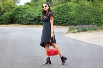 From the latest blog post!  #5bagsyouneedinyourwardrobe #ispeakwhatyoulove #whatiwore #ootd #blogger