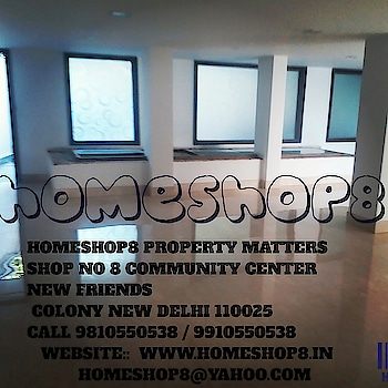 HOME SHOP@8 is a leading real estate advisory firm in the country with over 8 years experience. We are an innovative thinking organization that offers a unique combination of sector knowledge coupled with excellent negotiating skills.with our extensive work experience and expertise of our team professionals, we are able to strike the best deals in the market for our clients.Our strength lies in South and Central Delhi Areas and the NCR. We are Based in NEW FRIENDS COLONY and are active in providing real estate solutions. We give tailor made solutions for sale, purchase, renting and collaboration-residential and commercial both.We would be glad to address your queries and arrange site visits.We look forward to provide you with our services  ices  Website: www.homeshop8.in  Operating Since: 2003  Dealing in: Rent/Lease and Sale/Purchase of Apartments / Flats, Office Spaces, Commercial Plots / Lands, Independent Houses, Shops, Residential Plots / LandsAreas of OperationNew DelhiAll New DelhiSukhdev ViharNew Friends ColonyKailash ColonyChittaranjan ParkOkhla Ind Estate Phase-IDefence ColonyFriends Colony WestEast Of KailashFriends Colony EastGreater Kailash IKalkajiNizamuddin WestFaridabadGreenfield ColonyCompany DetailsContactCompany: home shop@8Contact Person: Sundeep Singh Bhasin propertorAddress: shop no 8 community centre, New Friends Colony, New Delhi  property#properties#investment#rentedproperty#realestateagentinsouthdelhi#newfriendscolony#southdelhi#propertyagent#builderfloor#rentingapartment#realtor #propertyfinder #propertymarket #investment #propertyinvestor #broker #properties #luxury #home #house #propertyagent #propertystyling #interiordesign #realestateagent #realestate #property#homeshop8in @homeshop8 #realtorlife #homes #propertymanagement #realtors #milliondollarlisting #realestatesales #houses #realestatelife #beautiful #realestateagent #propertyforsale #listings #luxury #luxuryrealestate #broker #house #realty #homeforsale #realestateforsale #property #propertymanager #homebuyer #realestate #propertyagent #prilaga #properties #dreamhome #villa #luxurylistings #forsale .@hs8 #bloggerswanted #youtubevideo #newchannel #prilaga #fashionvlogger #vines #viners #youtubechannel #likes #vine #vinevideo #vloggerlifestyle #comedyvine #makingvideos #youtube #editingvideo #vlog #vlogchanel #subscribe #styleblogger #subscribetomychannel #comedyvideos #foodvideo #bloglife #vlogingcamera #vlogbrothers #vlogsquad #beautyvlogger #follow_back