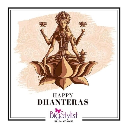 BigStylist wishes you and your families a very Happy Dhanteras! #dhanteras #diwali #happy #happiness #goddessLakshmi #festive #prosperous #occasion #indianfestivals