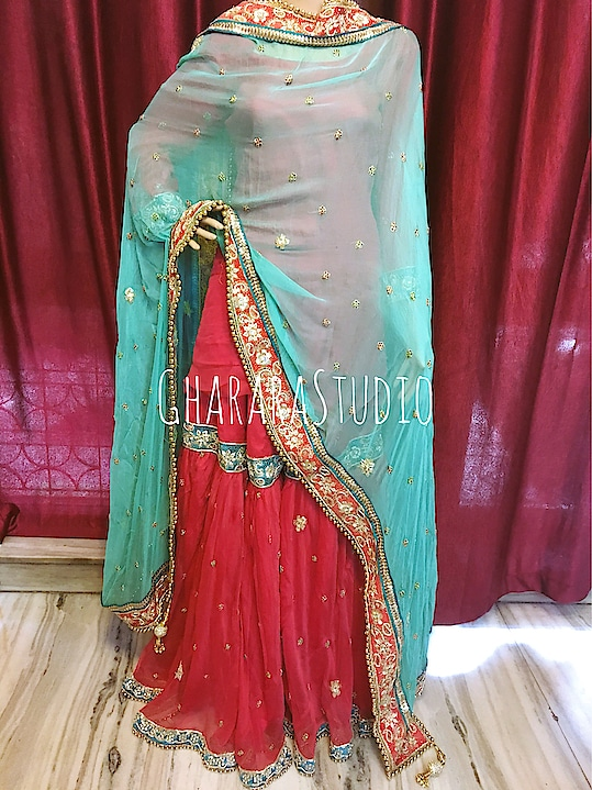 Gharara in Chiffon with zardozi handwork embroidery all over.  Can be customised to any colour combination.    🌈WhatsApp at +919971865919 to order 🌈Deliver complete stitched to your size  🌈Deliver Worldwide   #gharara #ghararastudio #ghararastudiobyshazia #redgharara #chiffongharara #kimkhaab #bridal #wedding #nikah #zari #cutworklace #embroidery #fashion #instafashion #fashiongram #fashionblogger #fashionblog #fashiondiaries #fashionstyle #fashiongirl #fashionpost #indianfashion #indianwedding #muslimahfashion #buyghararaonline #ghararalove #ghararah #muslimbride #pakistanigharara