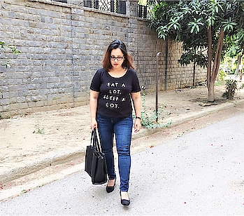 Slogan tees are part of current fashion trends for 2018-19! Have you seen this post yet? If not, go to DeeSayz.com . . . . . . #springfashion #summerfashion #ootd #deesayz #outfitoftheday #outfitinspo #styling #whatiwore #wiwt #streetstyle #styleblogger #lifestyleblogger #fashionblogger #fblogger #indian #mumbai #bangalore #delhi #fashion #streetfashion #streetphotography #instafashion #instastyle #instadaily #fashioninsta #ootdsubmit #potd #lookbook #beauty #bblogger