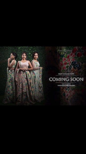 ‭‭‭‭‭‭‭‭‭‭‭‭‭‭‭‭‭‭‭‭‭‭‭‭‭‭‭‭We are launching our new August 2019 lehengas collection on Monday, July 15th.  Please contact us at care@eastandgrace.com for any questions.  With #Love, EAST & GRACE www.eastandgrace.com #eastandgrace #saree #blouse #happyshopping #beautiful #indian #sari #desi #lehenga #ribbonembroidery #handembroidery #fashionista #fashion #model #photooftheday #picoftheday #bestoftheday #celebstyle #wedding #milanfashionweek #portraitphotography #stillphotography #modeling #fashionphotography #portfolio #portraitpage #portraits #photoshoots #punjabiwedding #fashionista #indianblogger #fashionblogger #follow #repost #look #lookbook #Indianfashionblogger #streetstyle #ethic