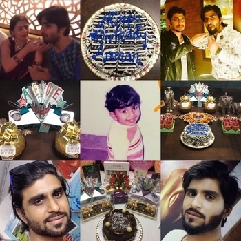 ‪And the birthday celebrations continue 🎊🎉 May you shine like the Stars and the Moon and the Sun 🌟🌙🌞 Always .. A very happy birthday again 💐 #HappyBirthdayAamanTrikha 🎂💐 #HappyBirthday 🎉 RockStar @AamanTrikha 💐🎉🎂🍰 May God bless you with health, wealth, happiness, Success, all that you deserve and a lot more, all beyond measures 🎂 You are our pride and will always be 🙌🏻 #LoadsOfLove 💝 ‬#HeartThrobbingVoice‪ ‬#AamanTrikha 🎙 #Pride #AamanTrikhaKaaGaana 🎼 #AamanTrikhaKeeAawaaz 🎶 #HeartThrobbing #SingWithAaman 🎙 #musicislife #musicislove #musicisdivine #MusicIsAamanTrikha 🎙 ‪#Gratitude #Royal #Legend #‬styleicon #beard #hairstyle ‪ ‬#innocence #inspiration #devotion #happiness #dedication #soulful #divine #versatile #voice #20likes