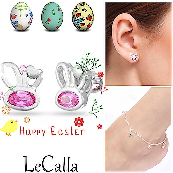 Easter Collection: Bunny Face Jewellery, get on special price, Order Now!   #LeCalla  #happyeaster #bunnyface #silverjewellery #ordernow #specialprice #musthave #offer #instajewellery #instagood #instajewellery #indiagram #unique #uniquejewelry #creativejewellery #trending #customized #ootd #photooftheday #roposo #silverjewelry #silvergift