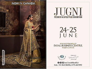 @canada calling!!  A Million Dollar Affair in Canada now!  After India & Dubai let's rock #canada @canada @canada_minni_punjab @canadathings_ @canadaa_love @instagram    #jugni #fashion #lifestyle #exhibition #punjab #favourite #fashiondiaries #holidays #work #shopping #style #statement #wouldbebride #musthaves #shopaholic #wardrobe #amilliondollaraffair #nehaamitsingla #amitsingla #instagram #instagood #instalove #lileforlike #followforfollow @singla.amit08 @nehaamitsinglaofficial @amilliondollaraffair