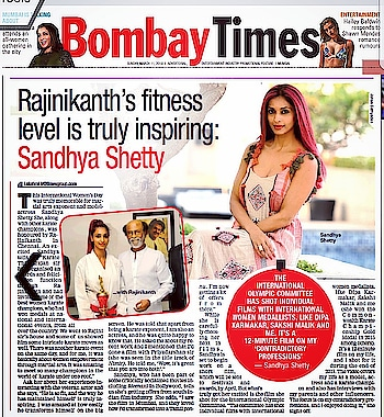 #sandhyashetty #commonwealthkaratechampion2015 #SAKFchampion2017 🙏🙏🙏Being humble and constantly working towards stepping up with good work relentlessly is what i saw of a living legend #Rajnikanth the superstar of India.Humbled and feel proud to have recieved the super achiever award for all the achievements in the world of Indian #karate. So much love and appreciation coming from all quarter's ❤ thank you #KarateThiagarajan sir for making this possible🤗🤗😊🙏👍 thank you everybody truely means a lot 🤗😊❤ Thank you #Bombaytimes @bombaytimes @chennaitimestoi  @thetimesofindia #Thetimesofindia #Timesgroup for all the love and support😊🤗🙏❤ om shri ganeshaya namaha om namaha shivaya 😊🙏❤