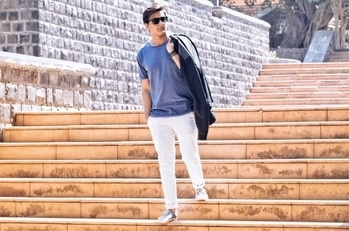 The shoot location is Lavasa. This is my fav place for shoots cause of its eye catching streets and bridges. Backgrounds are great for shoots. Posing in my fav  ✔️ Blue Tshirt - Mango man ✔️ White Trouser - Peter England ✔️ Espadrilles - Soludos  • • #allaboutlocation #bloggeracademy #assignment3  • • #mensfashion #menfashion #styleblog #stylemattersbro #athleisure #swag #photooftheday #summer-style #summer-looks #espadrilles #happy #fashionista #puneblogger #roposoblogger #fashionbloggerindia #indianfashionblogger #mensfashionpost #styleiswhat #minimalist #bluetshirt #whitepants  #summers