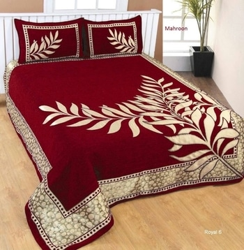 Chennile Velvet bedcovers....size90x100....₹1099/- Shipping free...Whatsapp 9301999130
