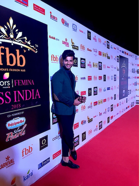 At the Miss India south zone finale
