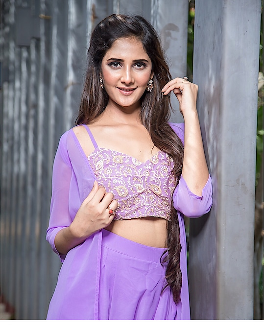 Purple passion 🔮 Beautiful outfit:- @missa_more_clothing  #missamoreclothing
