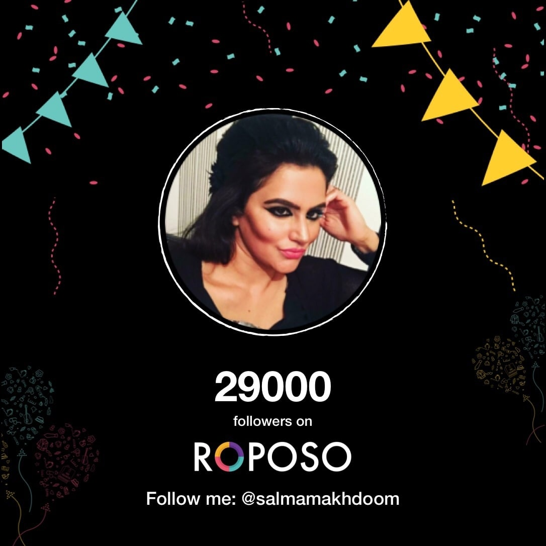 Thank you everyone for showing and giving me all the love and support on Roposo. You all truly mean alot to me. Want to give all my love to you all 😘 with millions and millions of thank you to you all for being a part of my life