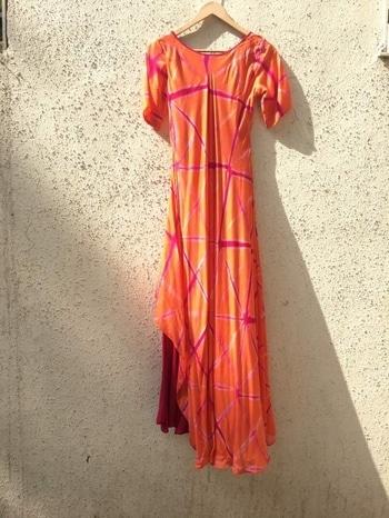Orange Madness Dress #dresses