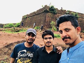A perfect reunion with friends#destination Goa#fun#beaches#forts#nightouts#longdrives#memories