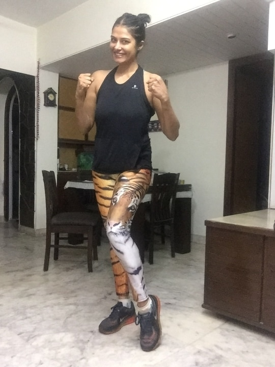 And the Tigress is back.. #tigress #workoutmode #workoutworship #strongisbeautiful