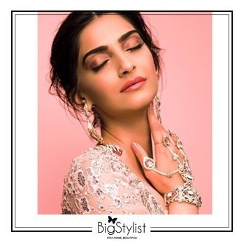 Sonam Kapoor looking ethereal at #Cannes2017!  We are in love with her dreamy hair and beauty look 😍  #sonamkapoor #Cannes #beauty #fashion #ethereal #dreamy #chic #pink #blush #makeup #hair #women #love #inspiration #beautiful