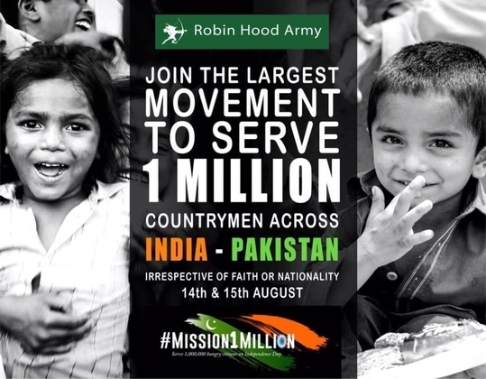 Way to go #TheRobinhoodArmy 🙌🏻 @rha_india .  This will be the single largest, most unprecedented act of giving undertaken by the citizens across India and Pakistan (without raising money) - *Let's do our bit*. If you'd like to donate meals to the hungry folks on the streets, please Get in touch with @siddharthjogani  #RHA #Mission1million #FightHunger   MORE information on my Instagram: @simratmarwah  #celebrityfashion