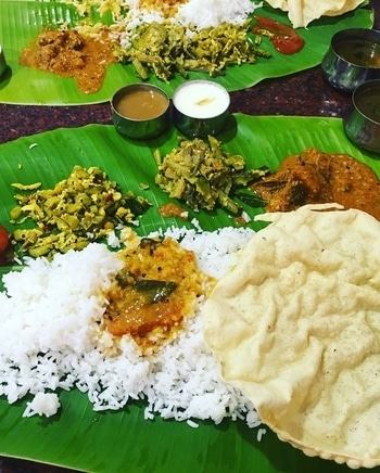 Traditional south india food...  #bananaleaf #yumyum #musttry