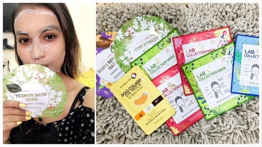 Posted a video on these sheet masks on my you're channel .. link in bio ✌🏼 ______________________________ . . #sheetmasks #koreanskincare #makeuplover #skincare #indianyoutuber #ootd #iphonephoto #goodvibes #saturdayvibes #makeupartist #foodblogger #fashionblogger #followtrain #love #live #food #lifestyles  #makeuptutorial #ootn #instadaily #photooftheday #instapicture #puppy #pet #lover #iphoneography #selfie #followme #like4like