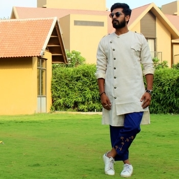 I want everyone to wear what they want and mix it in their own way.. That, to me, is what is modern.. In love with Ethnic Outfits.. ❤️ . . . #me #poser #ethnicwear #incredibleindia #springsummer #springsummer2017 #indianfashionblogger #ootd #ootdmen #mensxpofficial #mensxpfashion #lovingit #happiness #beardedmen #mensfashionpost #mensfashionreview #lookbook #aboutalook #mensstyle #streetstyle #rikkofficial