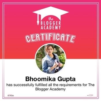 Thankyou @roposo ✨  #bloggeracademy #roposobloggeracademy #graduatedblogger #thebgwardrobe  #blogger #fashionblogger #bangalore #bangalorefashionblogger #bangaloreblogger #indianblogger #indianfashionblogger #lifestyleblogger #indianlifestyleblogger