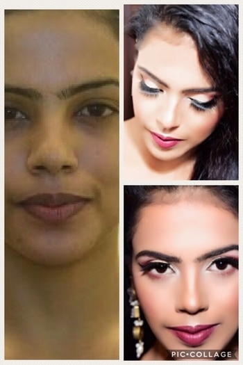 Makeover by #Iheartmakeupbyruchisinghrao #makeupblogger #makeupfun #makeovers #ropo-love #ropo-good #ropo-style #followus #follower #followmeonroposo #likeme #delhifashionblogger #muadelhincr #sexylook #khoobsooratblog #ruchisinghrao #happysoul #happylife