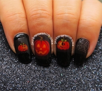 🎃 Pumpkin Nails 🎃 I used: 🕸Halloween Nail Tattoo from @beautybigbang #pumpkinnailcollab #nails #naildesigns  #nailartists #nailartcommunity #nailart #nailartchallenge #💅🏼#nailsofinstagram #nails #nailfashion #nailsart #pumpkinnails #designyournailsbyisha #ishanailart #halloweennails #spiderwebnails #beautybigbangnailart #roposonails #roposofashion #soroposo  @design_your_nails_by_isha🎃