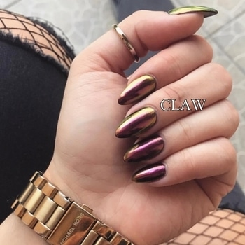 Beautiful Chrome nails of our gorgeous client ❤️ #claw #nailspa #clientdiaries #happyclient #happyus #getclawed💅💅 For appointments in MUMBAI call on , 9967401031 , 7045204981 For appointments DELHI call on 9811197099 , 9278375598 , 9871798965  WEBSITE : www.claw-nails.com