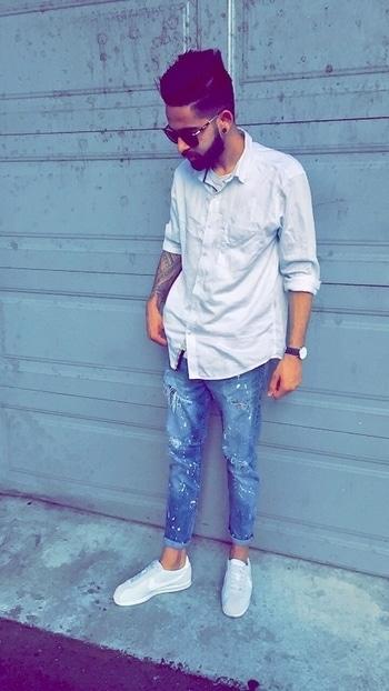 Love white 😻😻 #streetstyle #fashion blogger #ootd