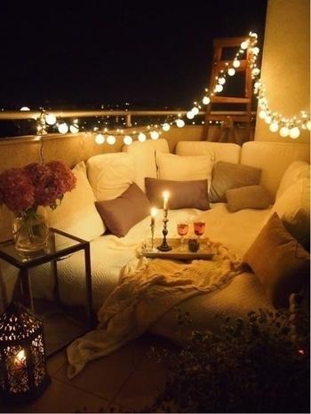 #balconylighting #homedecor