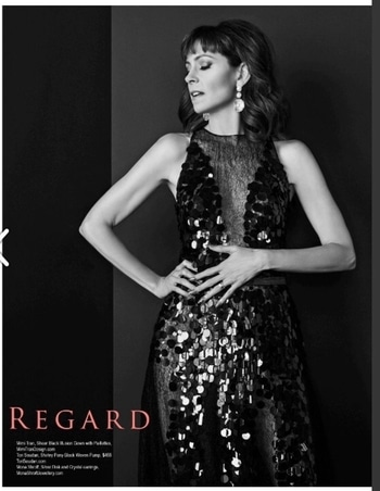 #hollywood #actress #carriepreston #monashroffjewellery #monashroff #earrings #regardmagazine #backpage #june2017