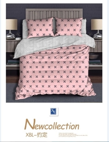 comforter set  1 bedsheet 2 pillow covers  1 double bed comforter size - 90x100 fabric- glace cotton price - ₹2200 Whatsapp 9737700682 for orders queries prices