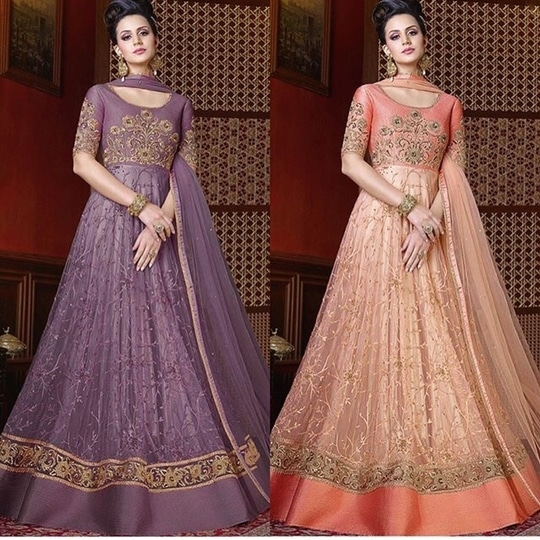 Peach And Lavender Net Anarkali Suit Product Code - FCSS1031 Available at www.fashionclozet.com  Watsapp - +91 9930777376 Email -  info@fashionclozet.com Or DM for enquiries Or DM for enquiries #salwarkameez #love #designerlehenga #instagood #beautiful #fashion #photooftheday #happy #tbt #cute #picoftheday #instadaily #girl #style #smile #beauty #makeup #photography #lehenga #sari #motivation #indianfashion #handmade #party #pink #indianbridal #instapic #punjabiwedding #lifestyle #wedding
