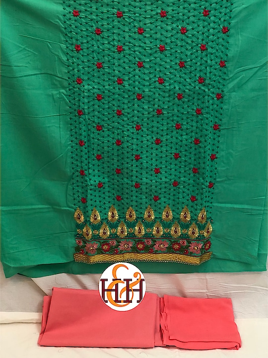 *H&H🌸* *NEW LAUNCH*  *BEAUTIFUL PURE COTTON TOP WITH CHIKANKARI & EMBROIDERY ZARI WORK* * PURE SOFT MARBLE CHIFFON DUPPATTA * *BOTTOM : PURE COTTON*  *RATE : 525+SHIPPING*🌸  To place order whatsapp product image (That  you wish to order)   https://api.whatsapp.com/send?phone=919987328671