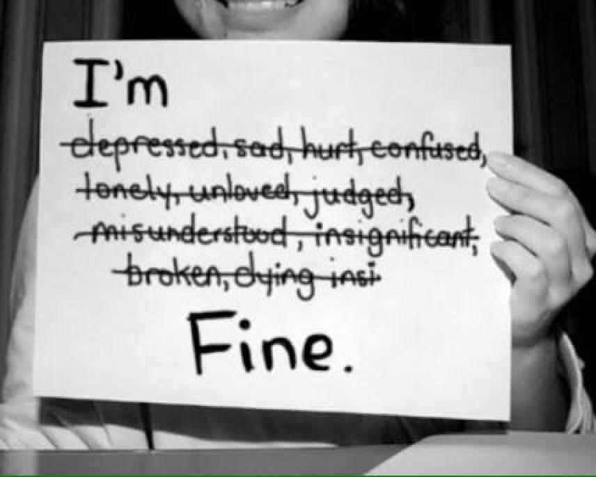 Yes I'm fine............
