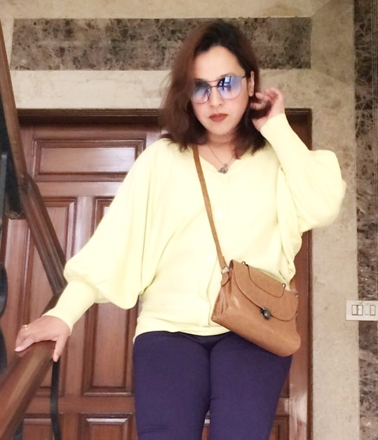 There are some pieces of clothing that last for years without loosing sheen or charisma. This is one such batwing button down top from @trendydivva which I have worn every fall season after season without getting bored 🍂 Still so much in love with it ..... . . .  #summerfashion #ootd #outfitoftheday #outfitinspo #styling #whatiwore #wiwt #streetstyle #styleblogger #lifestyleblogger #fashionblogger #fblogger #indian #mumbai #chennai #bangalore #flashback #delhi #fashion #streetfashion #streetphotography #instafashion #instastyle #instadaily #fashioninsta #ootdsubmit #minimalblogger #streetstyleblogger #instaphoto #potd