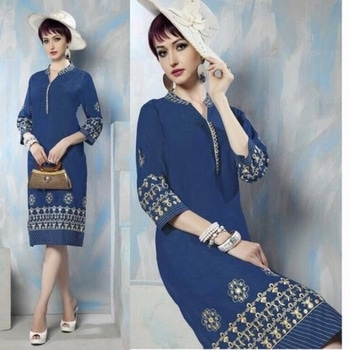 Denim fabric embroidery work long designer party wear kurties   Kurti fabric : Denim fabric embroidery work long kurtis  Available Sizes:  L , XL, XXL  Shipping available Worldwide  #denim #denimtrend #denimbrand #denimdaily #denimgirl #denimjacket #denimkurti #denimkurtis #kurti #kurties #denimlovers #denimlove #denimlook #denimforever #ilva #denim💙 #denimday  Order Now! #inboxme or #whatsapp - +918460366366