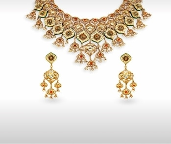 My favourites from the Tanishq Padmavati collection! #festivejewellery #diwali #goldjewellery  #jewellery