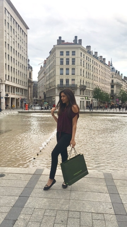 Got myself a new Longchamp while strolling through the streets of Lyon 🌆