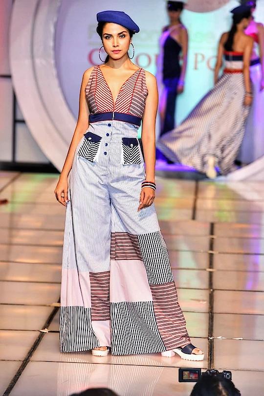 #fashion #rampshow #sailor