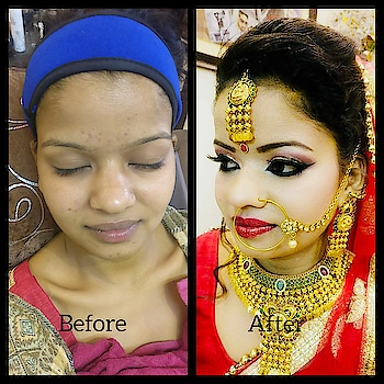 #makeupartist #malvikamakeovers #wedding-bride #weddingmakeup  #weddingattire #bride-lehenga #bridetobe #weddingday #weddinggoals #indianweddingbuzz #weddingbells #weddingbrigade #weddingblog #makeupstudio #hudabeauty #mac #paccosmetics #nyx #sephora #morphe #fellingblessed #lovewhatido #contour #malvikamakeovers #mua
