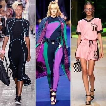 Assignment 4  The new Athlesiure ! #jpyim #getty #2017fashiontrends #silhoutte #runway #designercollection  #trendingfashion #stylistdiaries  #bestdesignerdresses #hashtaggameon