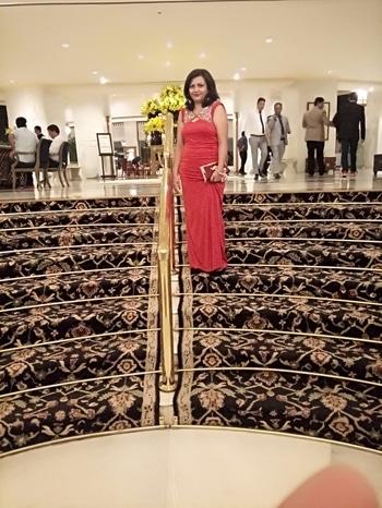 Attending Event in Taj palace Delhi