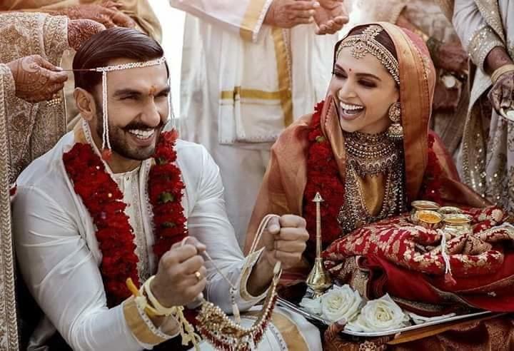 Vivo and Oppo merged today💐  Happy married life💐  #DeepVeerKiShaadi  #DeepikaWedsRanveer