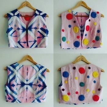#colourful #tiedye #reversiblejacket #stylishwear