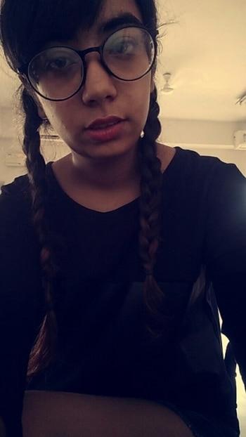 why being sexy?  try sometimes nerdy.  😍 #spexyme #braidlove #braided #braidingnerd #nerdyglasses #nerdylook #fashionfables