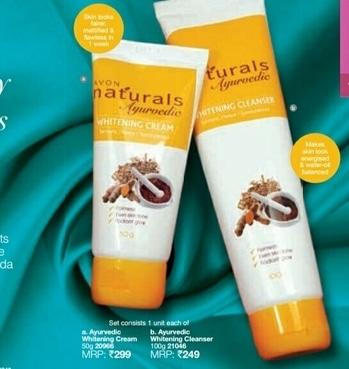 Avon Ayurvedic cream & Cleanser