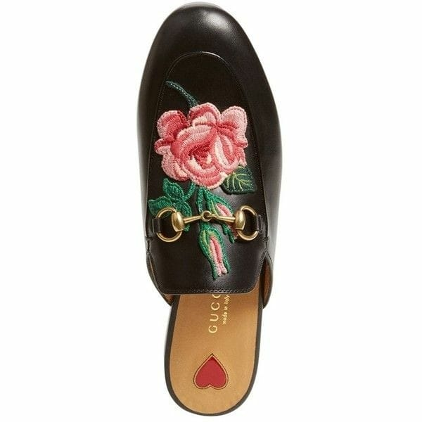 #Gucci#embroidered #mule#loafers