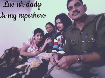 #luv #dad # forever #mine