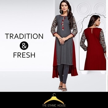 Traditional designs perfectly matched with modern cuts! CASH ON DELEVRY AVAILABLE FOLLOW US ON INSTAGRAM (@theethnichouse)  For more details:what's app +91-9619527699 . . #theethnichouse #TEH #fashion #workchic #officeoutfits #womanwears #reyonkurti #indianwearlove #salwa #suit #yellowkurti #fashionindian #kurtifashion #outfit #ethnickurti #kurti #rayonkurti #kurtifashion #indiankurtis #yellowkurti #printed Kurtis #woman-fashion #womenwear #fashionbloggerindia #fashionblog #ethnic-wear #ethnickurti #onlineshopping  #ethnicwear